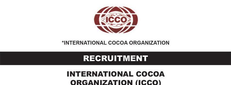 recruitment international cocoa organization icco is